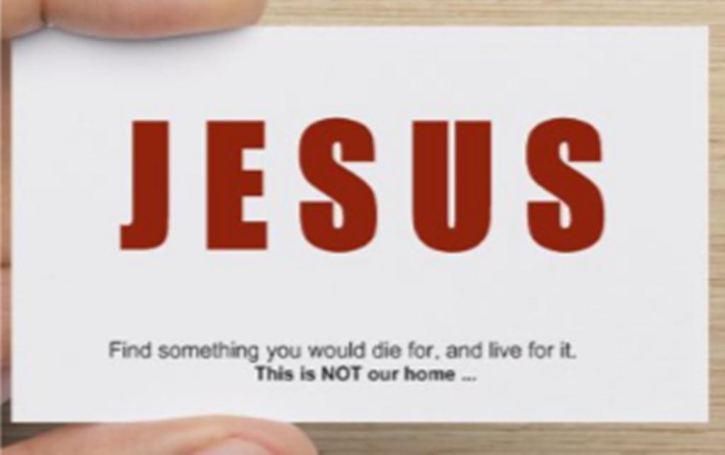 Business Cards - Jesus 1 | Tribulation-Now