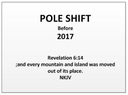 Pole Shift 2017